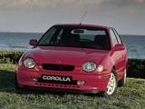 Toyota Corolla Compact 3-door (E110) 1997–99 wallpapers