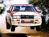 Pictures of Toyota Corolla GT Coupe Rally Car