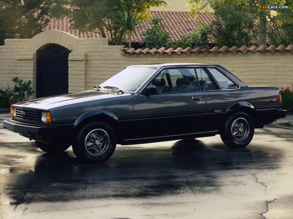 Toyota Corolla SR5 Hardtop Coupe (AE71TE72) 1980–83 pictures (1024 x 768)