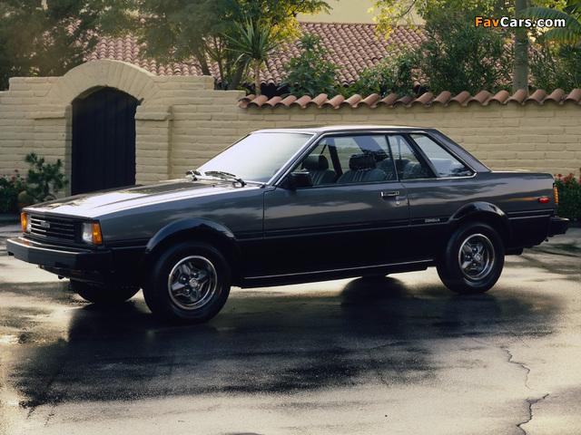 Toyota Corolla SR5 Hardtop Coupe (AE71TE72) 1980–83 pictures (640 x 480)
