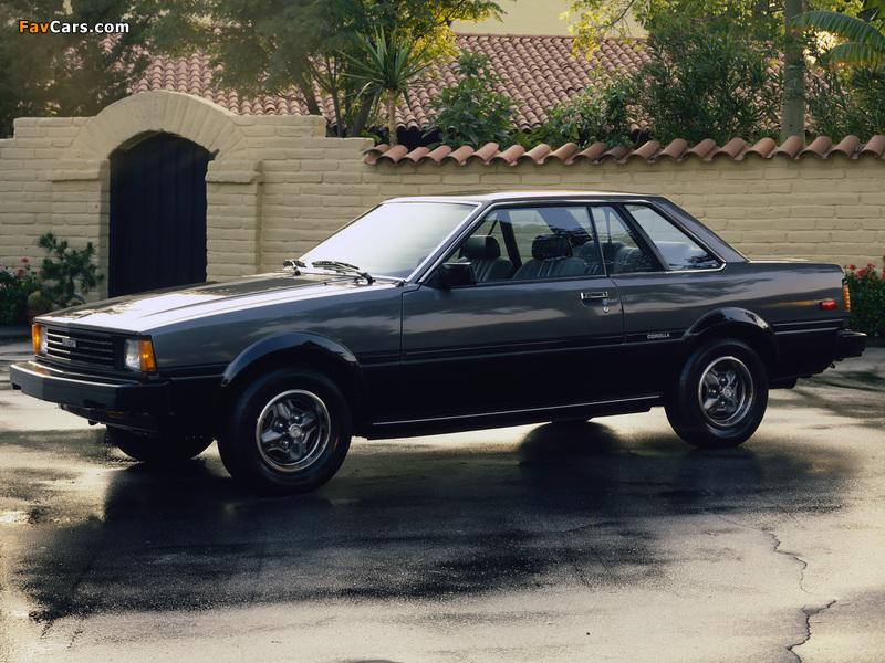 Toyota Corolla SR5 Hardtop Coupe (AE71TE72) 1980–83 pictures (800 x 600)