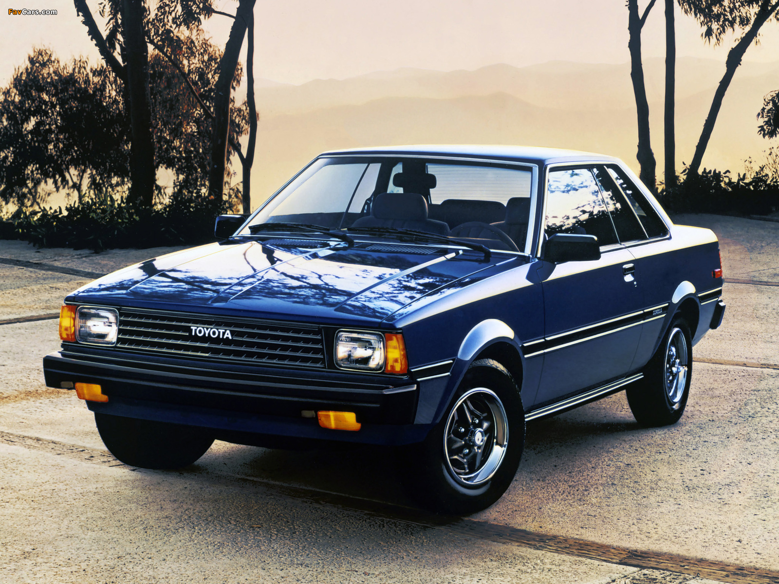 Toyota Corolla SR5 Hardtop Coupe (AE71TE72) 1980–83 wallpapers (1600 x 1200)