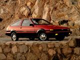 Toyota Corolla SR5 Sport Liftback (AE86) 1984–86 images