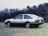 Images of Toyota Corolla Levin GT-Apex 3-door (AE86) 1983–85