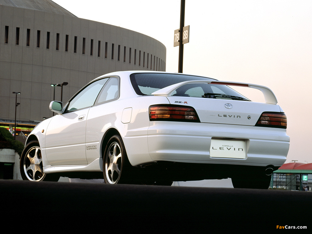 Pictures Of Toyota Corolla Levin Bz R Ae111 1997 2000