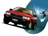 Toyota Corolla Levin GT-Apex 3-door (AE86) 1983–85 pictures