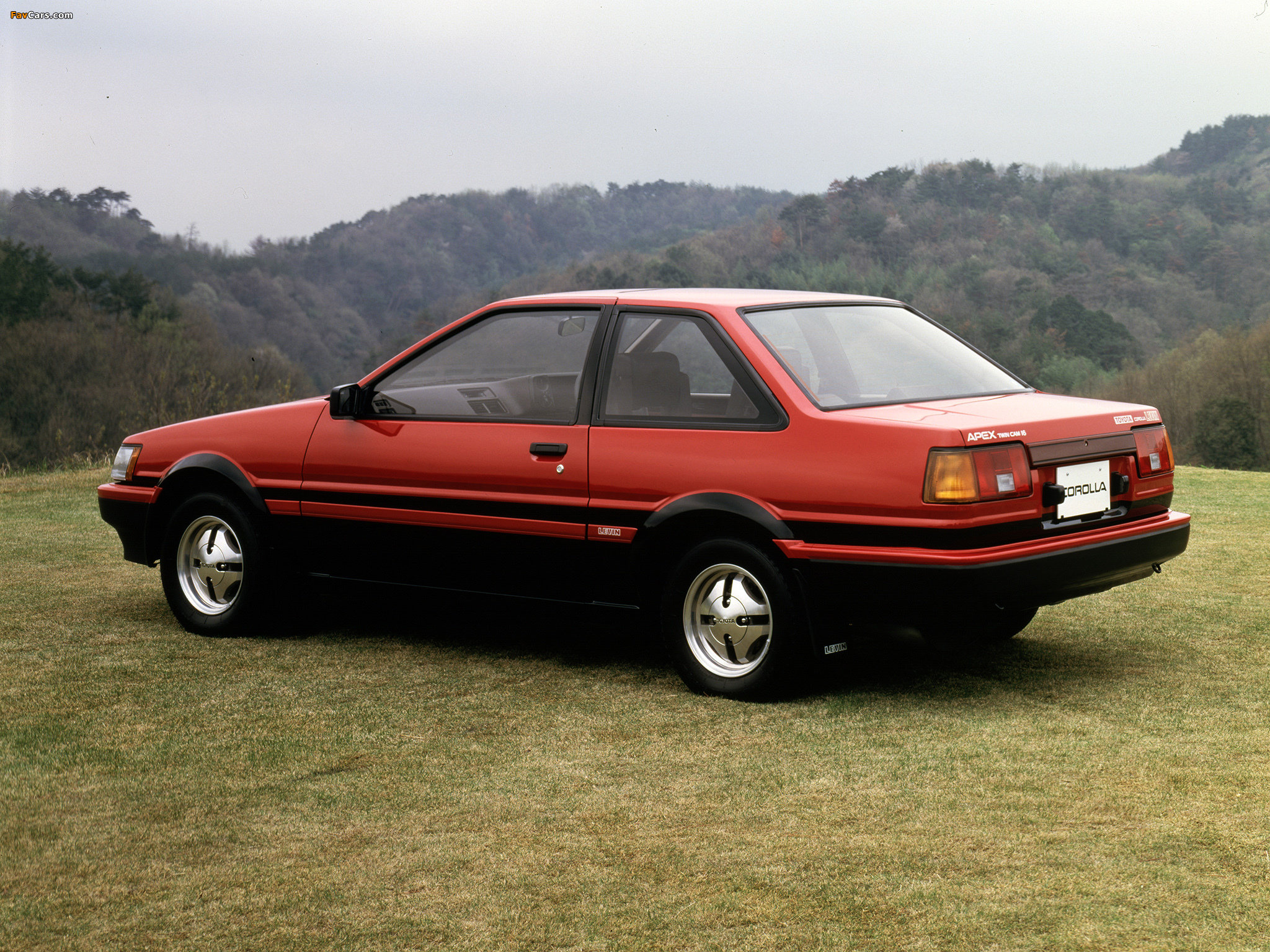 Toyota Corolla Levin Gt Apex 2 Door Ae86 1983 85