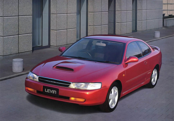 Toyota Corolla Levin ae100-ae101 wallpapers