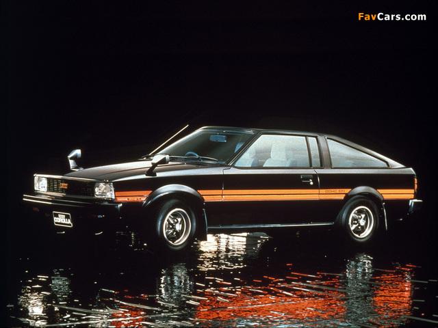 Toyota Corolla Levin Coupe (TE71) 1979–81 photos (640 x 480)
