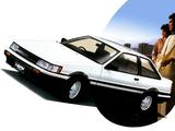 Toyota Corolla Levin GT-Apex 2-door (AE86) 1983–85 pictures