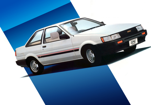 Toyota Corolla Levin Lime 2-door (AE85) 1983–85 wallpapers