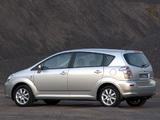 Images of Toyota Corolla Verso ZA-spec 2004–09
