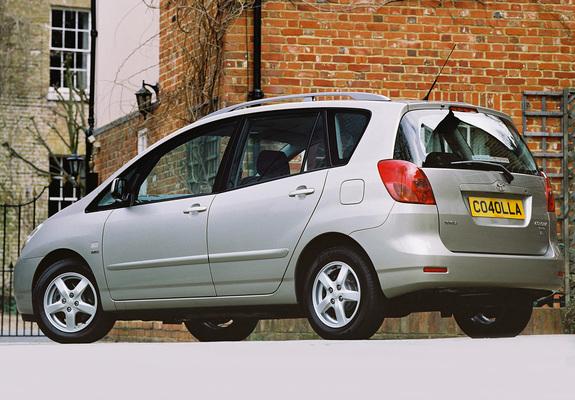 Toyota Carolla Verso 2002 #10
