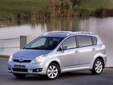 Toyota Corolla Verso ZA-spec 2004–09 images