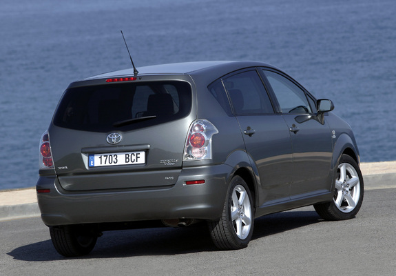 toyota corolla verso 2004 09 wallpapers. Black Bedroom Furniture Sets. Home Design Ideas