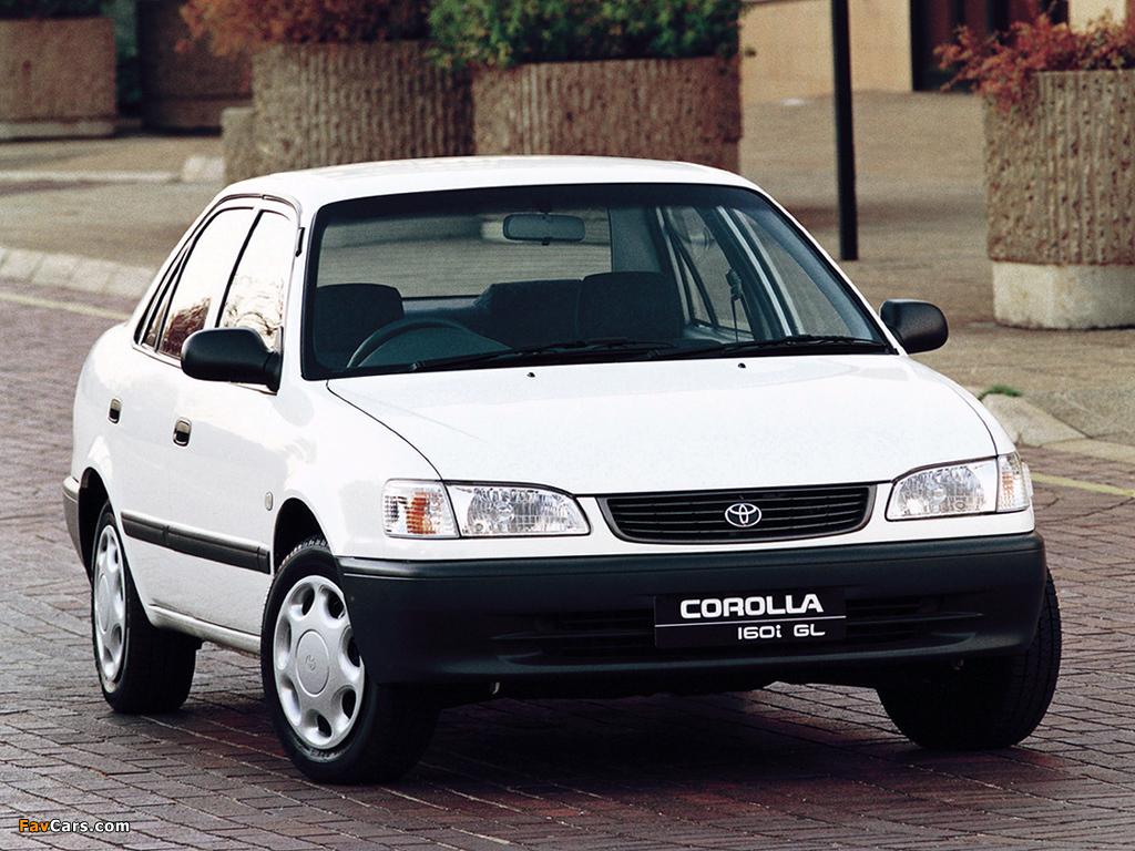 Images Of Toyota Corolla Gl Sedan Za Spec 1995 2000 1024x768
