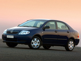 Images of Toyota Corolla Sedan ZA-spec 2001–04