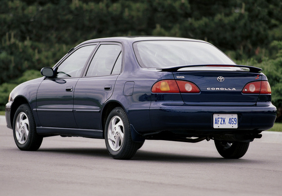 Images Of Toyota Corolla S Sedan Us Spec 2001 02