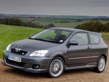 Images of Toyota Corolla T-Sport 3-door UK-spec 2004–07