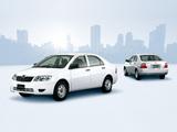 Images of Toyota Corolla Sedan JP-spec 2004–06