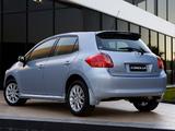 Images of Toyota Corolla Edge 5-door 2009