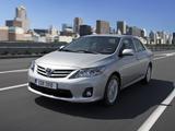 Images of Toyota Corolla EU-spec 2010