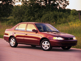 Photos of Toyota Corolla Sedan US-spec 1999–2000