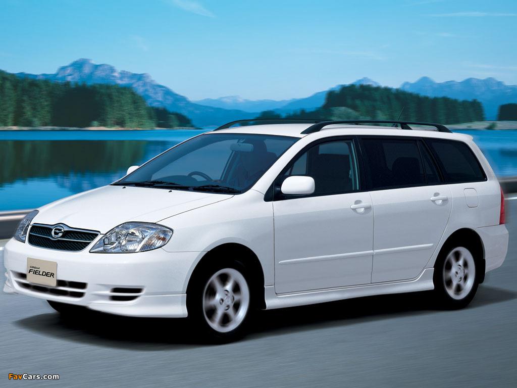 Photos Of Toyota Corolla Fielder E121g 2000 04 1024x768