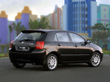 Photos of Toyota Corolla RunX RSi ZA-spec 2002–04
