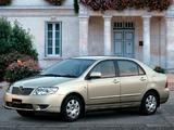 Photos of Toyota Corolla Sedan JP-spec 2004–06