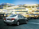 Photos of Toyota Corolla EU-spec 2007–10