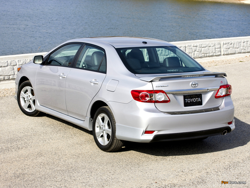 2010 Toyota Corolla S >> Photos of Toyota Corolla S US-spec 2010 (1024x768)