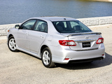 Photos of Toyota Corolla S US-spec 2010