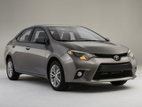 Photos of Toyota Corolla LE Eco US-spec 2013