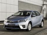 Photos of Toyota Corolla ZA-spec 2014
