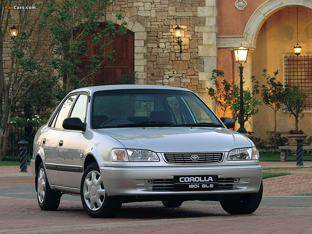Pictures Of Toyota Corolla Gle Sedan Za Spec 1995 2000