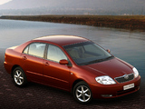 Pictures of Toyota Corolla Sedan ZA-spec 2001–04