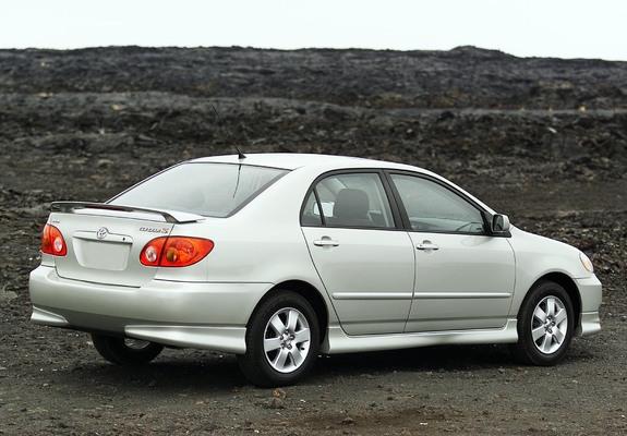 Pictures Of Toyota Corolla S Us Spec 2002 08