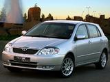 Pictures of Toyota Corolla RunX RSi ZA-spec 2002–04