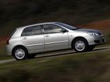 Pictures of Toyota Corolla 5-door 2004–07