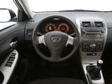 Pictures of Toyota Corolla EU-spec 2007–10