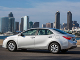 Pictures of Toyota Corolla L US-spec 2013