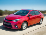 Pictures of Toyota Corolla LE US-spec 2013