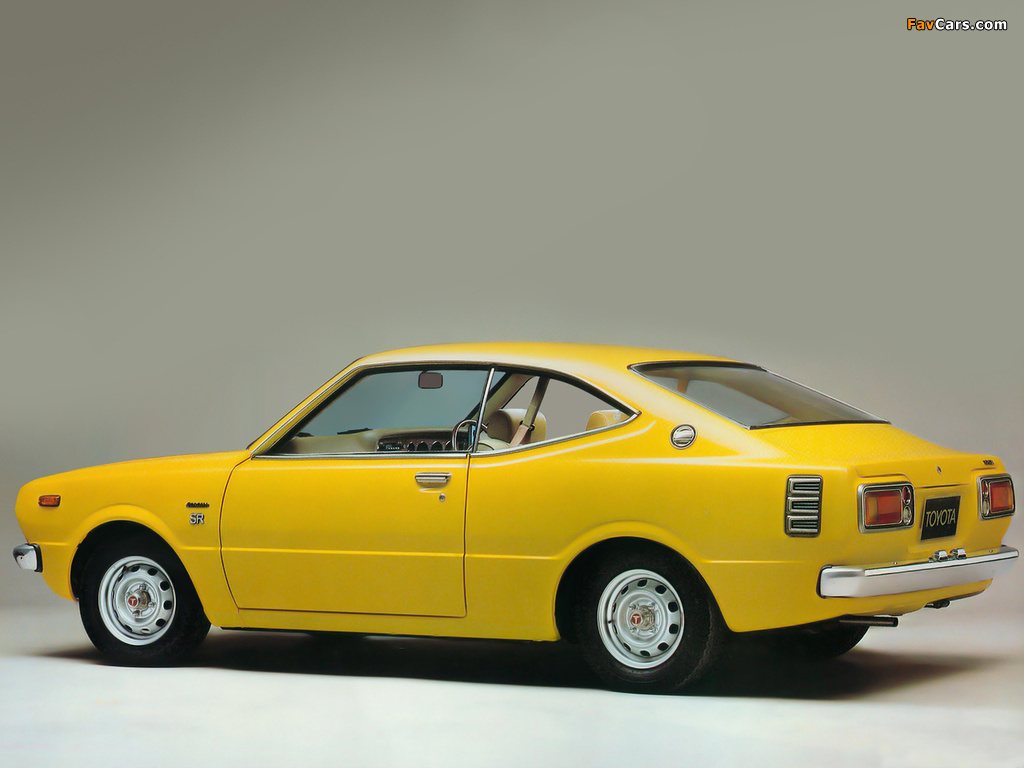 Toyota Corolla Hardtop Coupe E37 1974 79 Images 1024x768