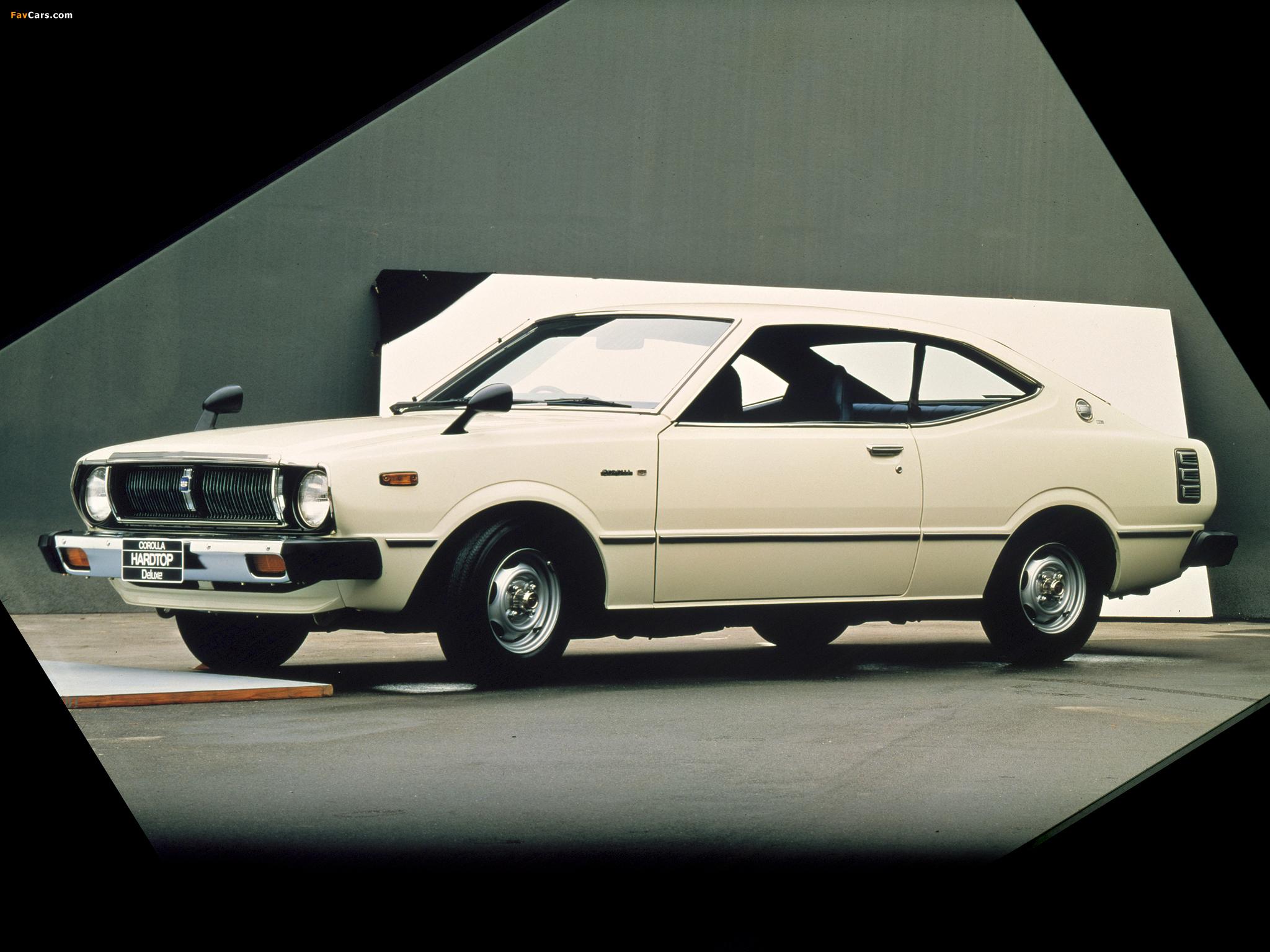 Toyota Corolla Hardtop Coupe E37 1974 79 Photos 2048x1536