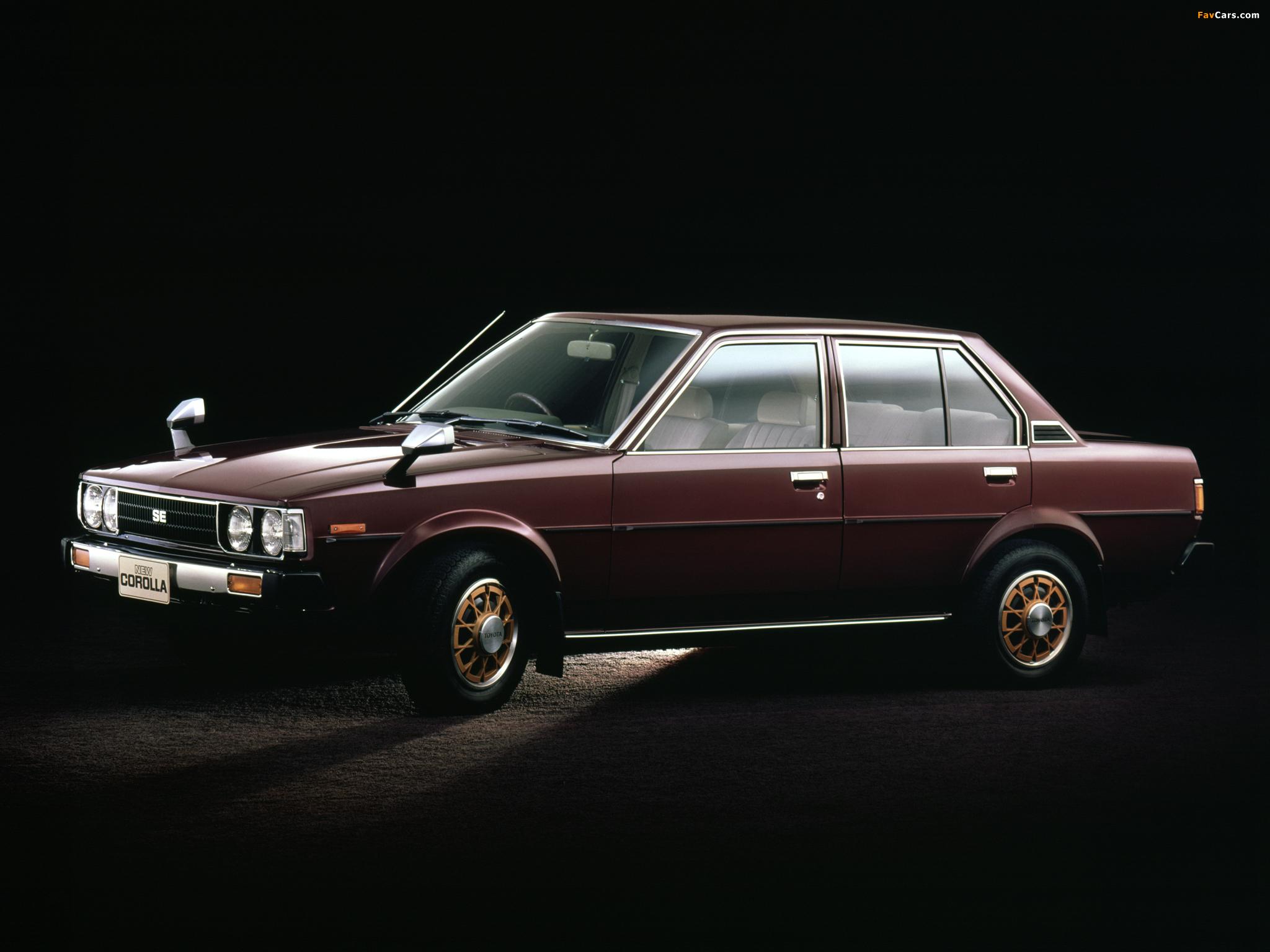 Toyota Corolla Sedan E70 1979 83 Photos 2048x1536