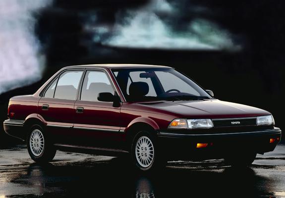 toyota corolla седан 1987 фото