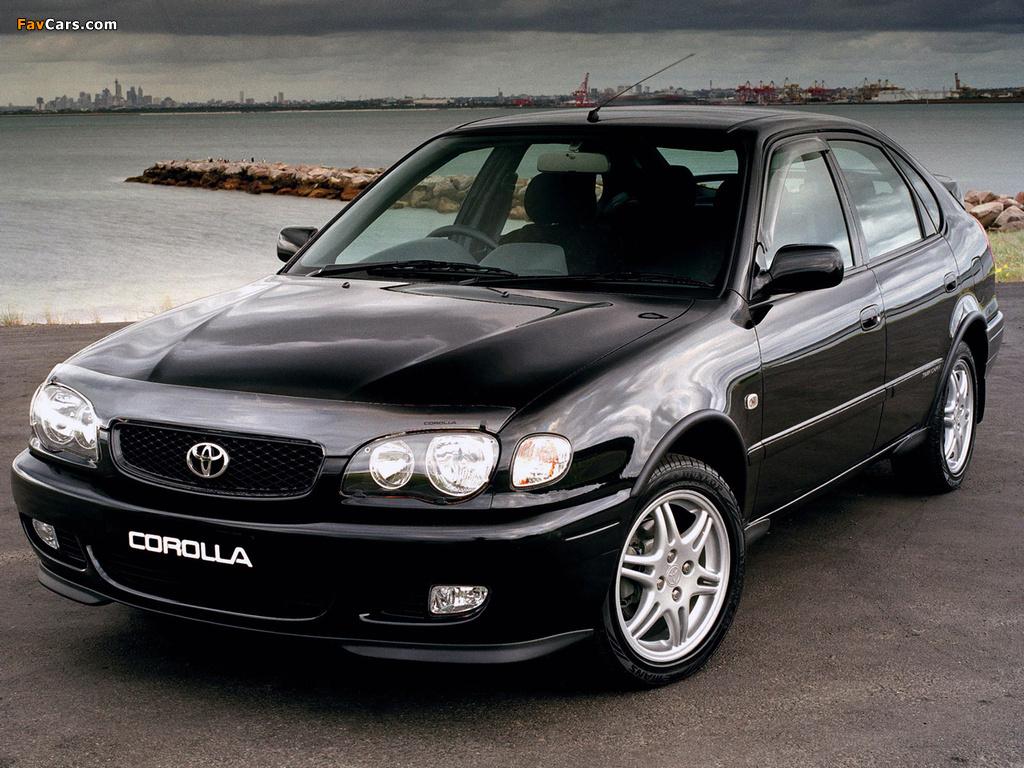 Toyota Corolla 5 Door Au Spec Ae110 1999 2001 Photos