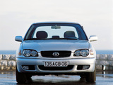 Toyota Corolla Sedan 1999–2001 wallpapers