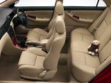 Toyota Corolla Sedan ZA-spec 2001–04 pictures